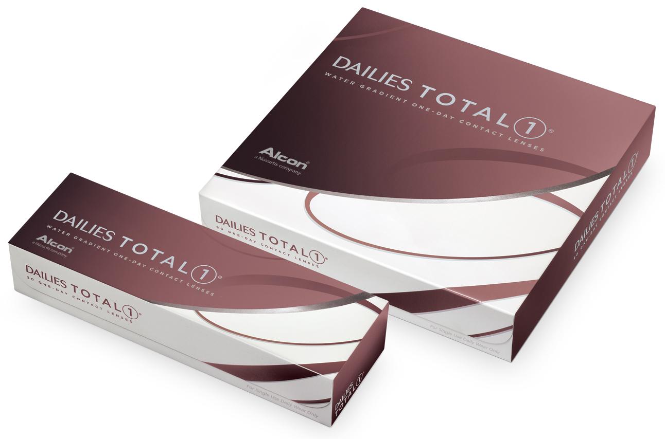 30 ks a 90 ks balení kontaktních čoček DAILIES TOTAL1®