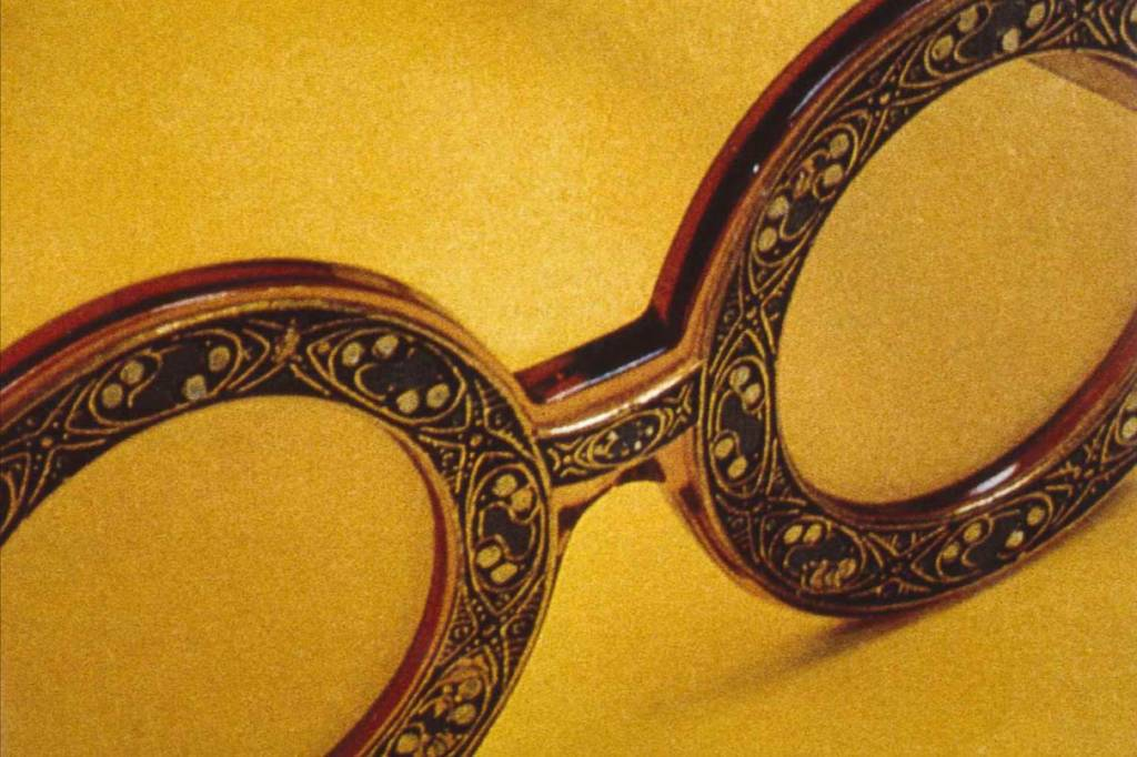 První brýle značky Christian Dior vyrobené z materiálu Optyl a kovu